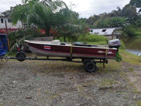 Bote Pesca Y Motor