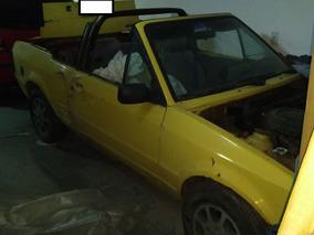 Escort Xr3 Conversível 1988 Amarelo Álcool Motor 1.6