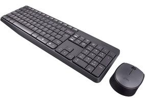 Combo Teclado E Mouse Logitech Mk235 S/ Fio 920-007903