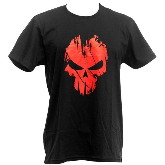 Camiseta Bravo Estampada Spectral Vermelha