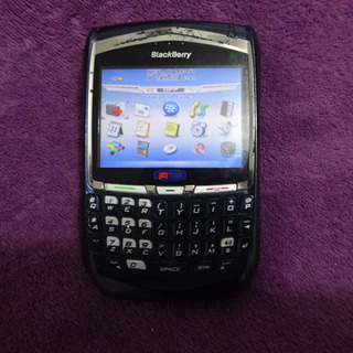 Celular Blackberry Tim 8700g Single 2g 2mp 2.4 Azul