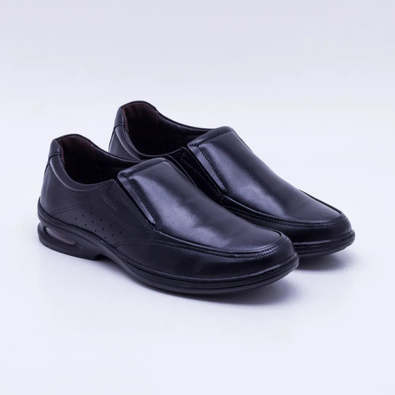 Sapato Social Pegada Masculino Couro - Preto 123301-01
