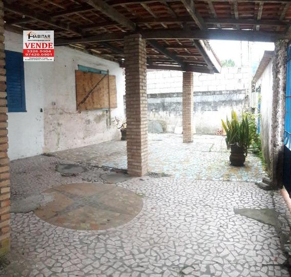 Terreno A Venda No Bairro Vila Santo Antônio Em Guarujá - - 1673-1