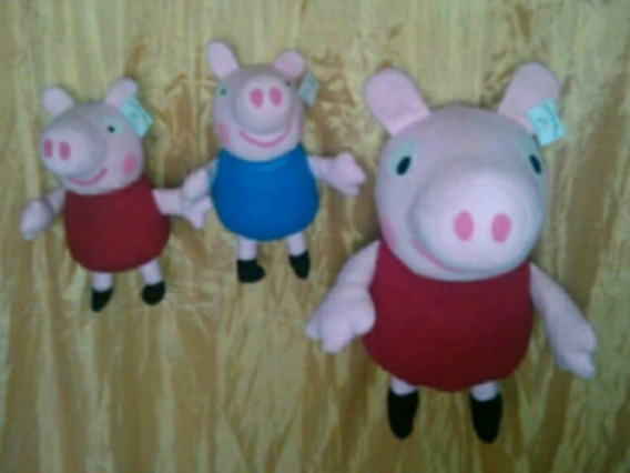 Peluches Peppa Pig Al Mayor Y Al Detal