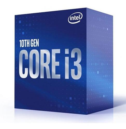 Imagen 1 de 5 de Procesador Intel Core I3 10100f S1200 Núcleos 4 Hilos 8