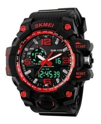 Relógio Masculino Digital Esporte Wr Resistente Água 1155