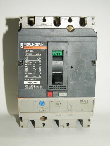 Totalizador 20/25 Amp Trifasico  Ns100n  Tm 25d 00089
