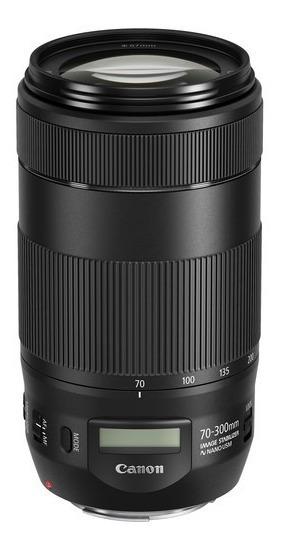 Lente Canon Ef 70-300mm F/4-5.6 Is Ii Usm Brasil 12x S/juros