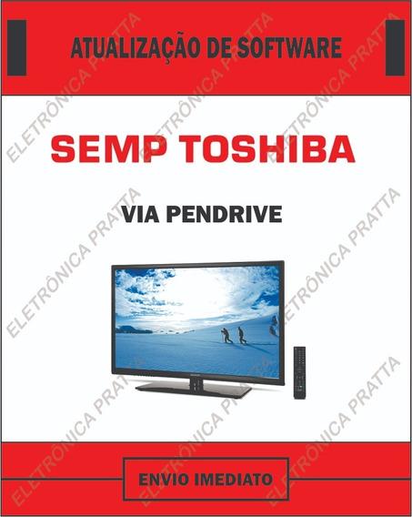 Atualização De Software Firmware Sti Semp Toshiba 40l2500