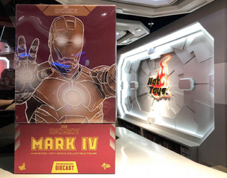Hot Toys Iron Man 2 Mark Iv Diecast 1/6 Marvel En Mano ¡¡