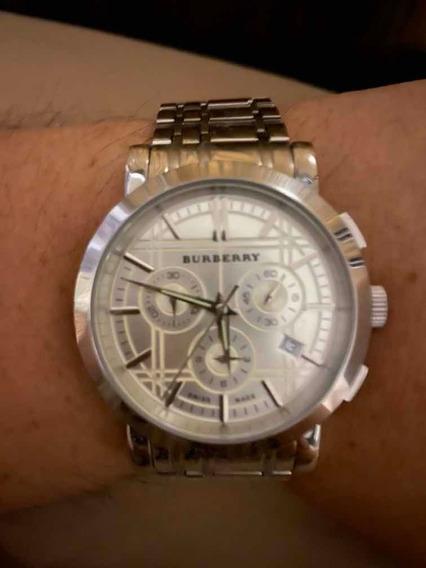 Reloj Burberry Suizo Cuarzo Súper Precio Como Nuevo !!