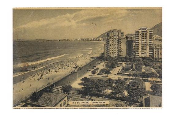 Antigua Postal Rio De Janeiro Copacabana Brasil 493