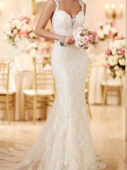 Vestido Noiva Sereia Off White