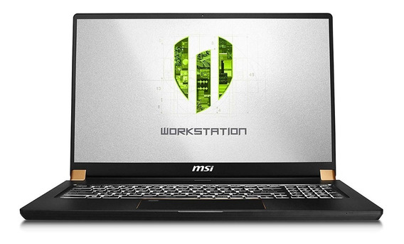 Notebook Msi Ws75 9tl-496 17.3 Fhd-i9 -rtx 4000-32gb-1tbssd