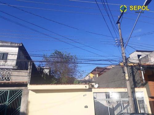 Terreno À Venda, 250 M² Por R$ 350.000,01 - Jardim Tietê - São Paulo/sp - Te0085