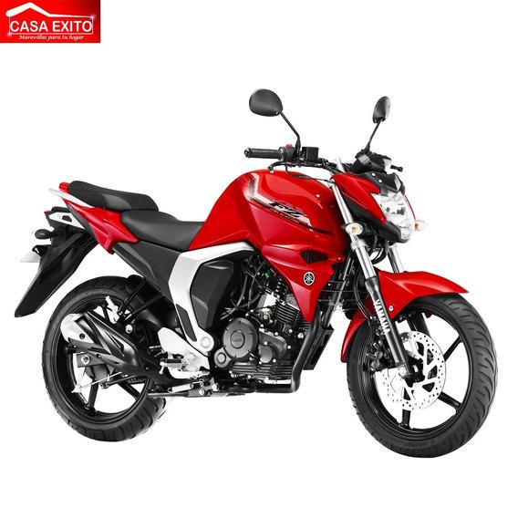 Moto Yamaha Fzn150 Año 2018 150cc Color Rojo