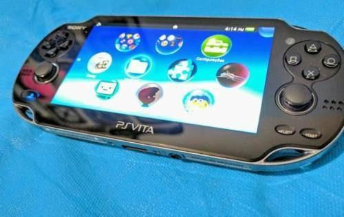 Ps Vita 32gb Sony Desbl. Com Jogos E Emulador Psp