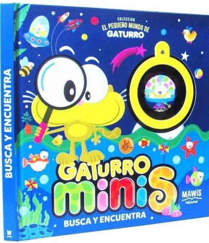 Imagen 1 de 3 de Gaturro Minis Busca Y Encuentra (cartone) - Nik