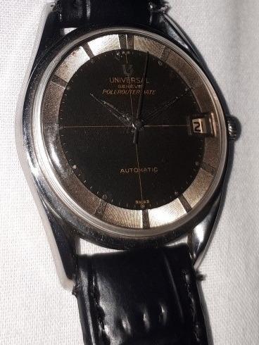 Relógio Universal Geneve Polerouter Microtor Automático