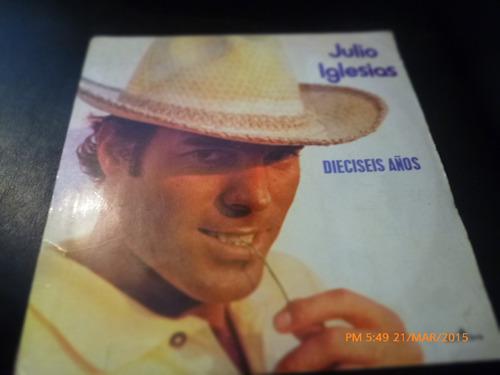 Vinilo Lp De Julio Iglesias -dieciseis Años (u312