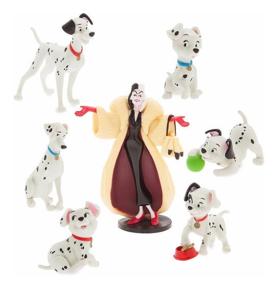 101 Dálmatas E Cruela Playset - 7 Figuras - Disney Store