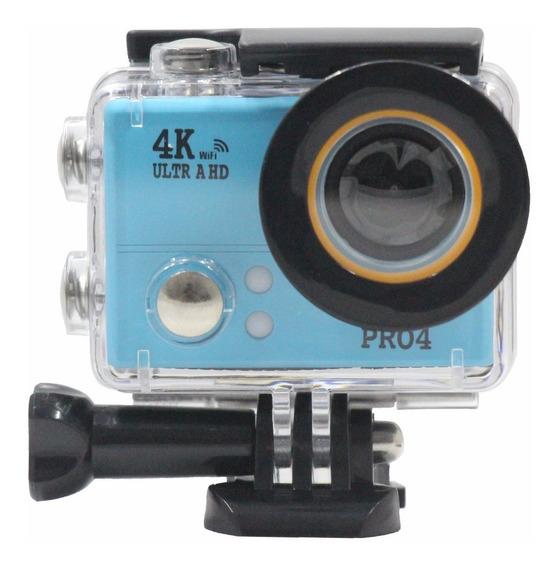 Câmera 4k Action Digital Sports Full Hd Wifi Hd Prova D