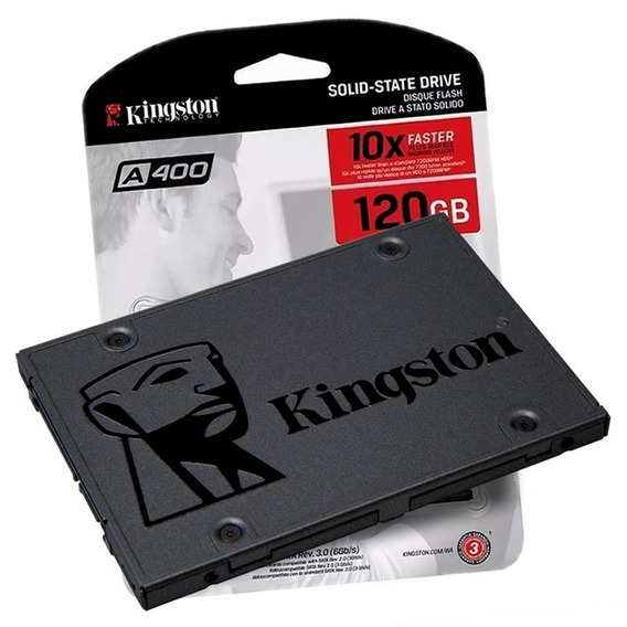 Ssd Kingston 120gb Disco Solido Notebook Pc V300 A400