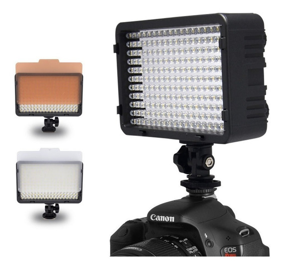Iluminador Led 198 Video Fotografia Filmagem 160 300 Yn300