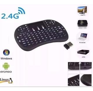 Mini Teclado Android Inalambrico Touchpad Smart Tv Windows