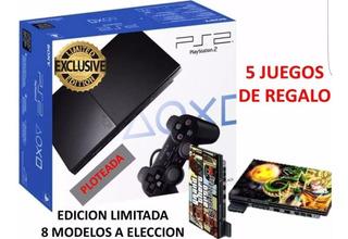 Playstation 2 Edicion Limitada Varios Modelos Con Garantía