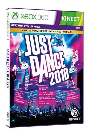 Just Dance 2018 - Xbox 360 - Original - Mídia Física - Usado