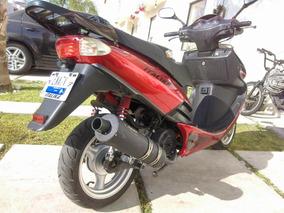 Italica X150 Roja Con Negro