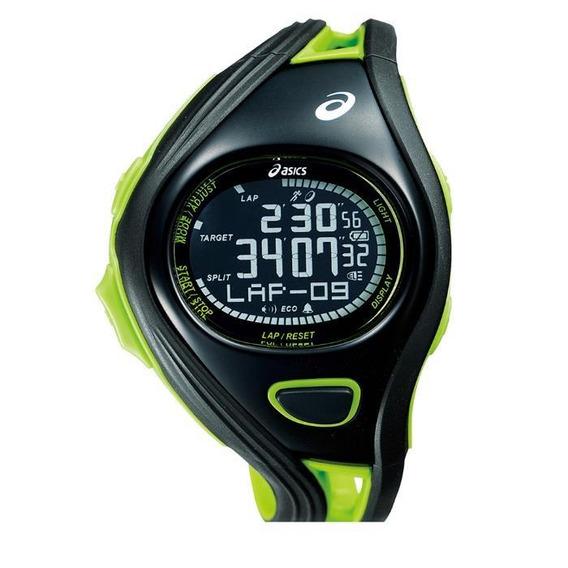 Relógio De Pulso Asics Challenge Regular - Preto/verde