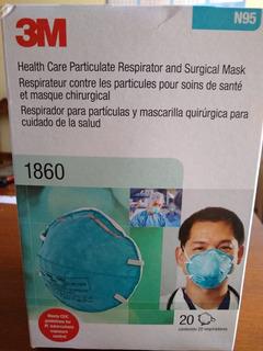Mascarilla N95 Código 1860 Marca 3m X 20 Unidades