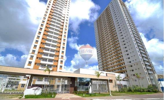 Apartamento Com 2 Dormitórios Para Alugar, 55 M² Por R$ 1.700/mês - Caxangá - Recife/pe - Ap1152