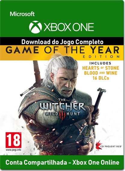 The Witcher 3 Complete Edition - Xbox One - Digital - Online