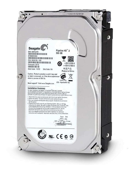 Disco Rígido Interno Seagate Pipeline 500 Gb Hd Desktop