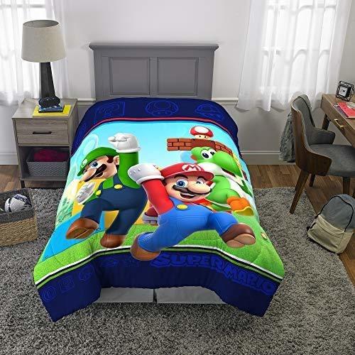 Edredon De Mario Bros.Edredones Infantiles De Mario Bros En Mercado Libre Mexico