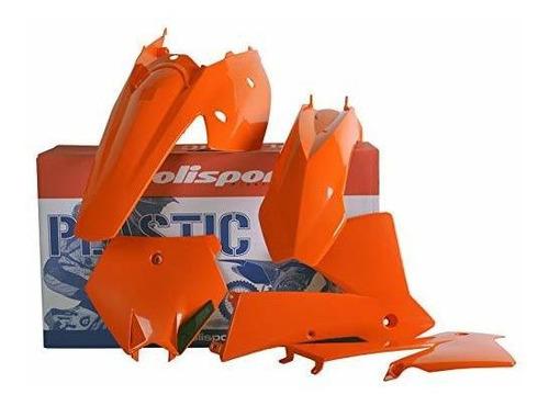 Polisport Plastics Kit Orange KTM 200 250 450 SX EXC 03-04