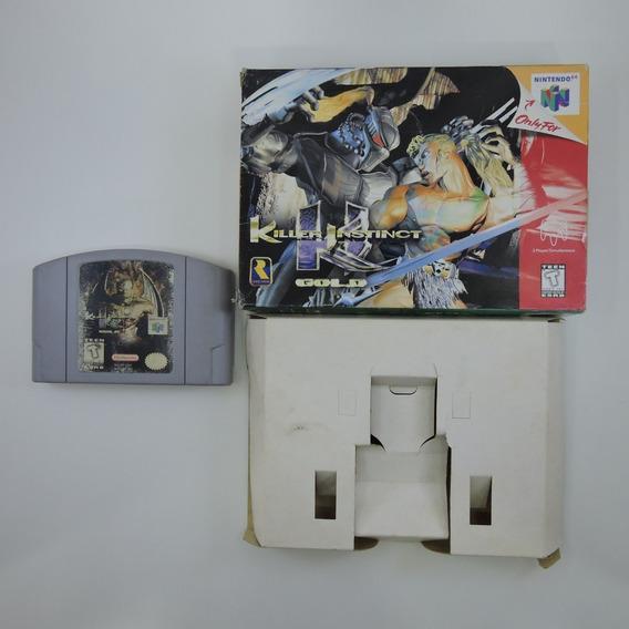 Killer Instinct Gold Original Americana Na Caixa Nintendo 64