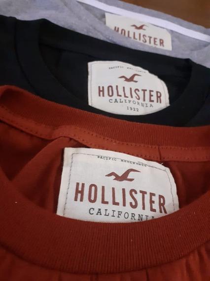 Remeras Hollister Hombre