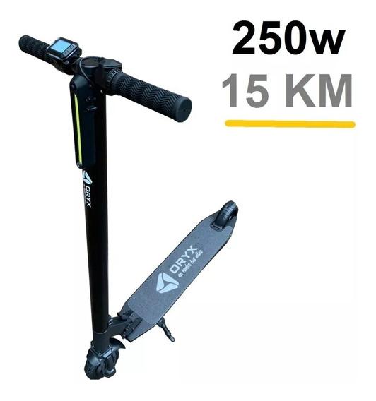 Monopatin Scooter Electrico Plegable 250w Recargable 15km