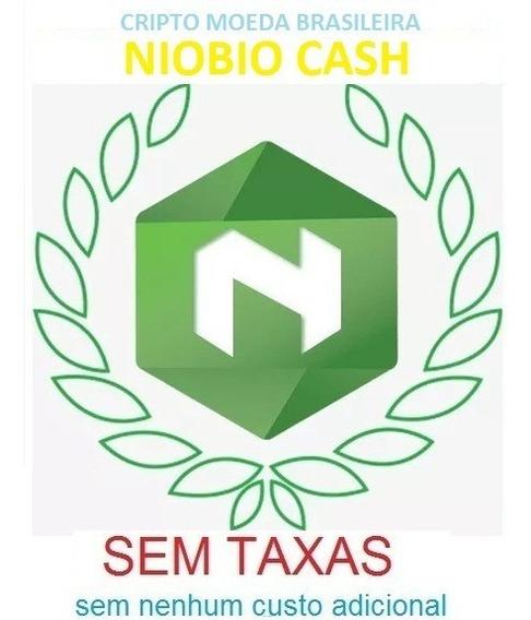 Comprar 100.000 Nióbio Cash Nbr Criptomoeda Altcoin Cartão