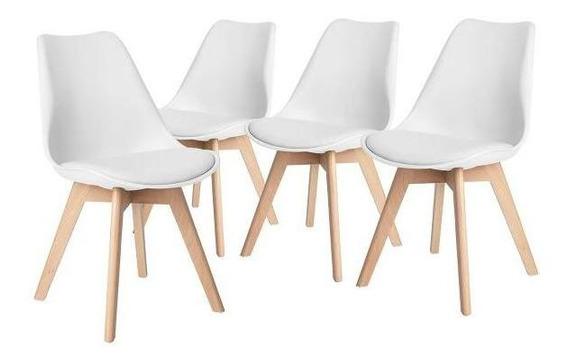 Silla Eames Hood Sillas Frankfurt Paquete De 4 Moderna