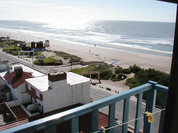 Departamento 8 Piso Con Balcon Vista Al Mar 2 Dormitorios 6p