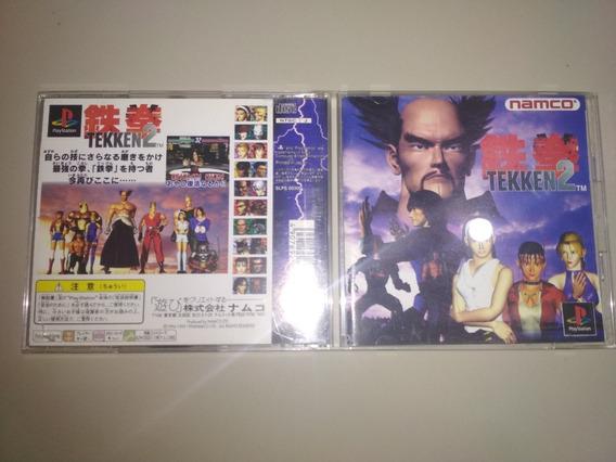 Jogo Ps1 Original - Tekken 2 - Jap