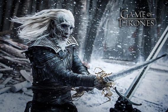 Poster Importado De La Serie Game Of Thrones - White Walker