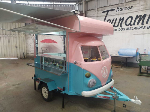 Trailler Kombi Food Truck Corujinha (sob Encomenda)