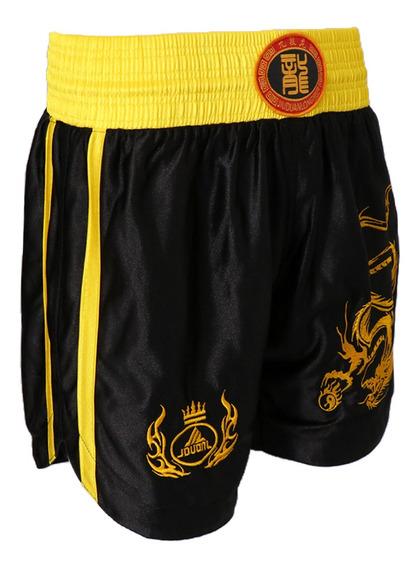 Unissex Adults Muay Thai Boxe Uniforme Sanda Combat Shorts R