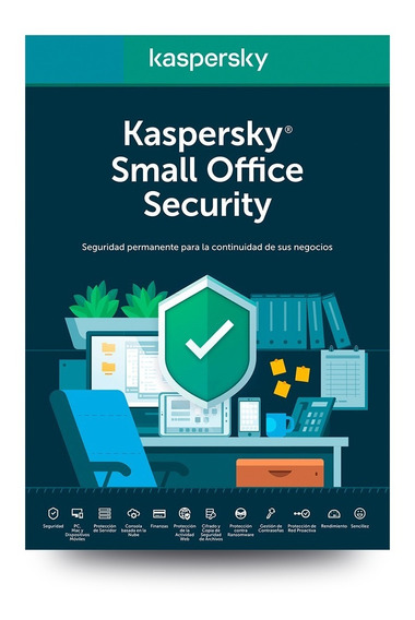 Kaspersky Small Office Security 20 Disp, 2 Server, 1año
